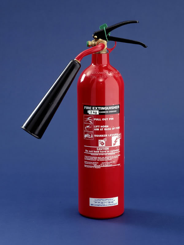 Extinguisher servicing